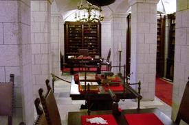 Patmos_Island_Greece_Library_St._John_Monastery