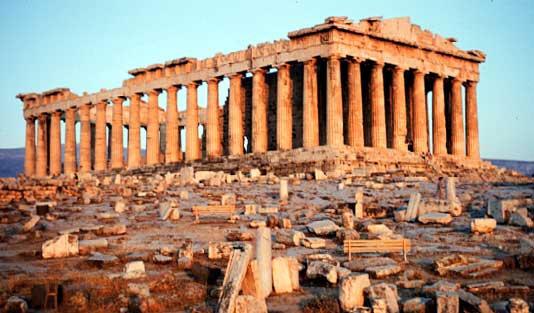 Atenas Grecia El Partenón Atenas antigua moderna Excursión
