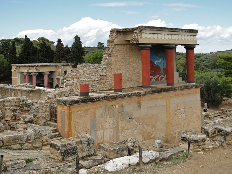 Heraklion_Crete_Island_Greece_Knossos_Palace Cruise Greek Islands Athens