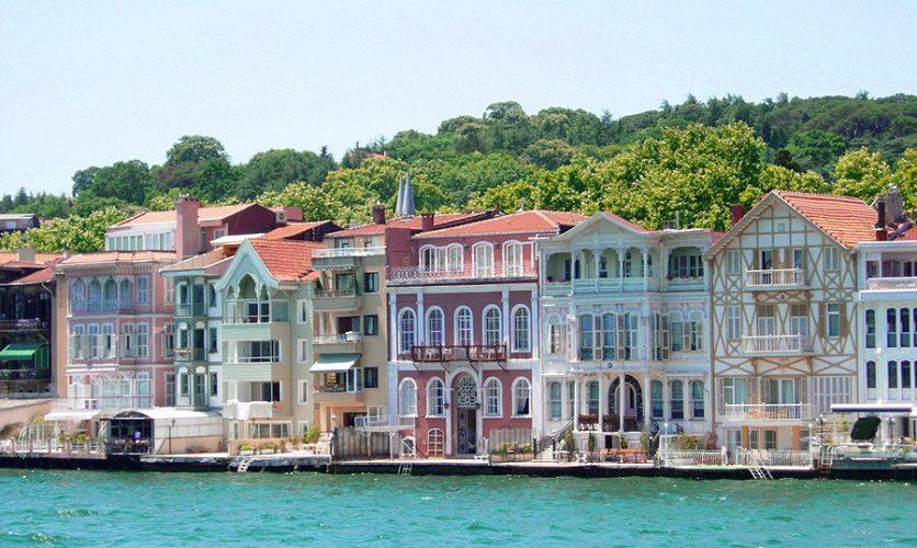 Estambul Turquía Bósforo Casas  Estambul Atenas Delfos Paquete