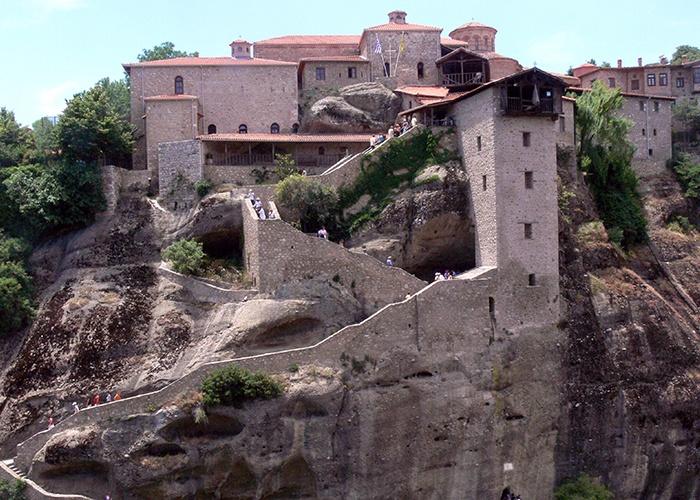 Meteora Grecia el Santo Monasterio de Gran Meteoron   Mykonos Patmos Éfeso Kusadasi