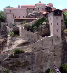 Meteora_Greece_The_Holy_Monastery_of_Great_Meteoron Mystras_Greece_The_Saint_Demetrious-Metropolis