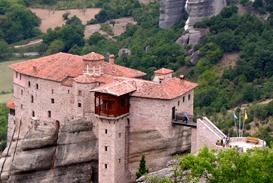Meteora_Greece_The_Holy_Monastery_of_Rousanou Mykonos_Myconos_Island_Greece