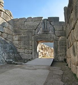 Micenas Grecia la puerta de los leones Patmos Mykonos Éfeso Kusadasi