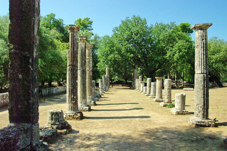 Olimpia Grecia Palaestra Grecia Clásica Meteora Monasterios