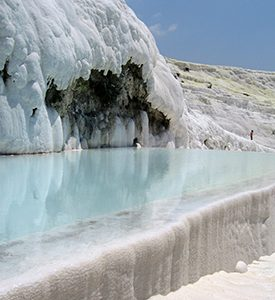 Pamukkale_Turkey_Travertine_hot_springs Ankara Cappadocia Konya Pamukkale