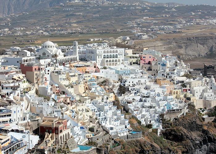 Santorini_Island_Greece_Fira_town Greek Islands Cruise Santorini