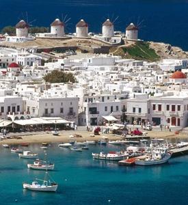 Mykonos Mykonos Island Grecia puerto viejo