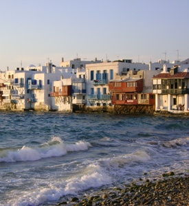 Mykonos_Myconos_Island_Greece_little_venice Mykonos Elegant Honeymoon Vacation