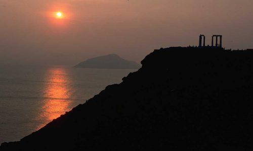 Cape Sounion Sunset