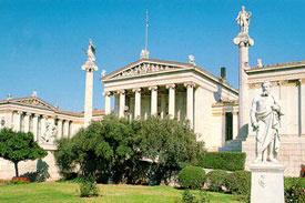 Academy_of_Athens_Greece Zakynthos Santorini Mykonos Athens