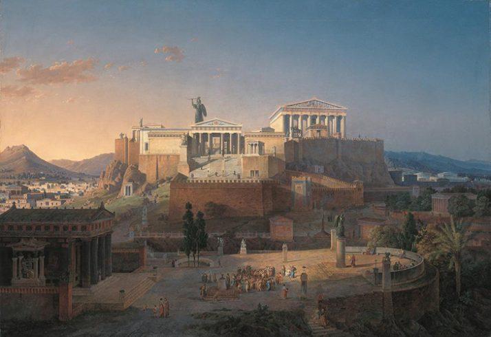 Atenas Grecia la reconstrucción de la Acrópolis Atenas Delfos mini vacaciones