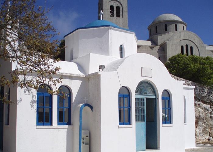 Isla Naxos Cícladas Grecia Panagia Argokoilivtissa  Paros Naxos Santorini