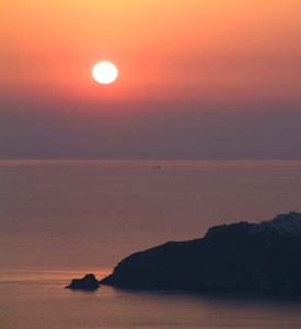 Santorini Greece sunset 3 days Cruise Mykonos Athens