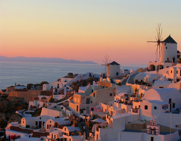 Santorini_Island_Greece Romantic Santorini Famous Athens