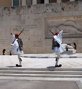 Athens_Greece_The_Evzones_Unknown_Soldier_Monument Athens 3 continents