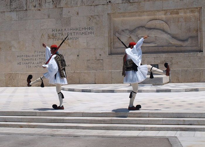Athens_Greece_The_Evzones_Unknown_Soldier_Monument Classical Greece private tour