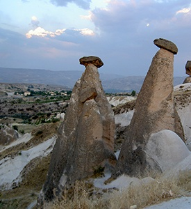 Cappadocia_Turkey_High_Chimneys Ephesus Kusadasi Cappadocia Istanbul