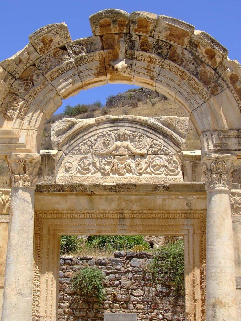 Ephesus_Turkey_Temple_of_Hadrian Ephesus Pamukkale Istanbul