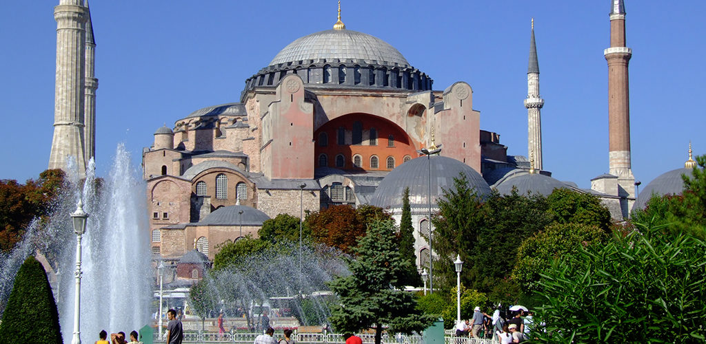 Istanbul_Turkey_Hagia_Sophia Greek Islands Turkey Cruise