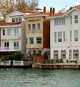Istanbul_Turkey_Bosporus_Houses Aegean Adventure Greek Islands