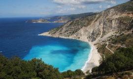 Isla de Cefalonia Grecia Playa de Myrtos
