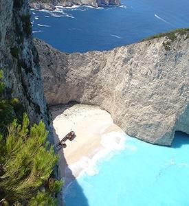 Zakynthos_Greece_Navagio_Beach Zakynthos Santorini Mykonos Athens