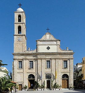 Chania_Crete_Greece_The_Cathedral Classical Greece Santorini Chania