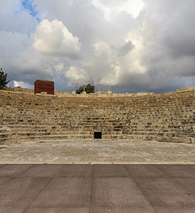 Limassol_Cyprus_Kourion_Greco_Roman_Theatre 3 continents 5 countries cruise
