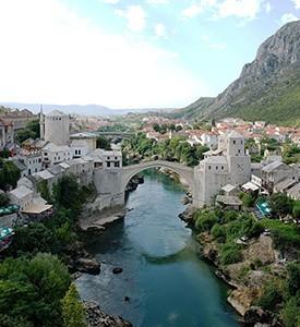 Boznia-Herzegovina-Mostar-Old-Town Croacia Bosnia Herzegovina Santorin