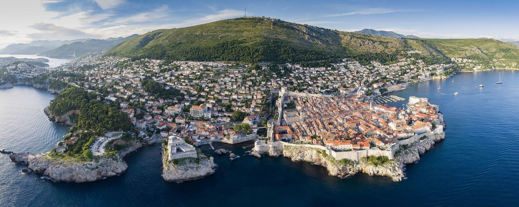 Croatia-Dubrovnik-panoramik-view Croacia Bosnia Herzegovina Santorini