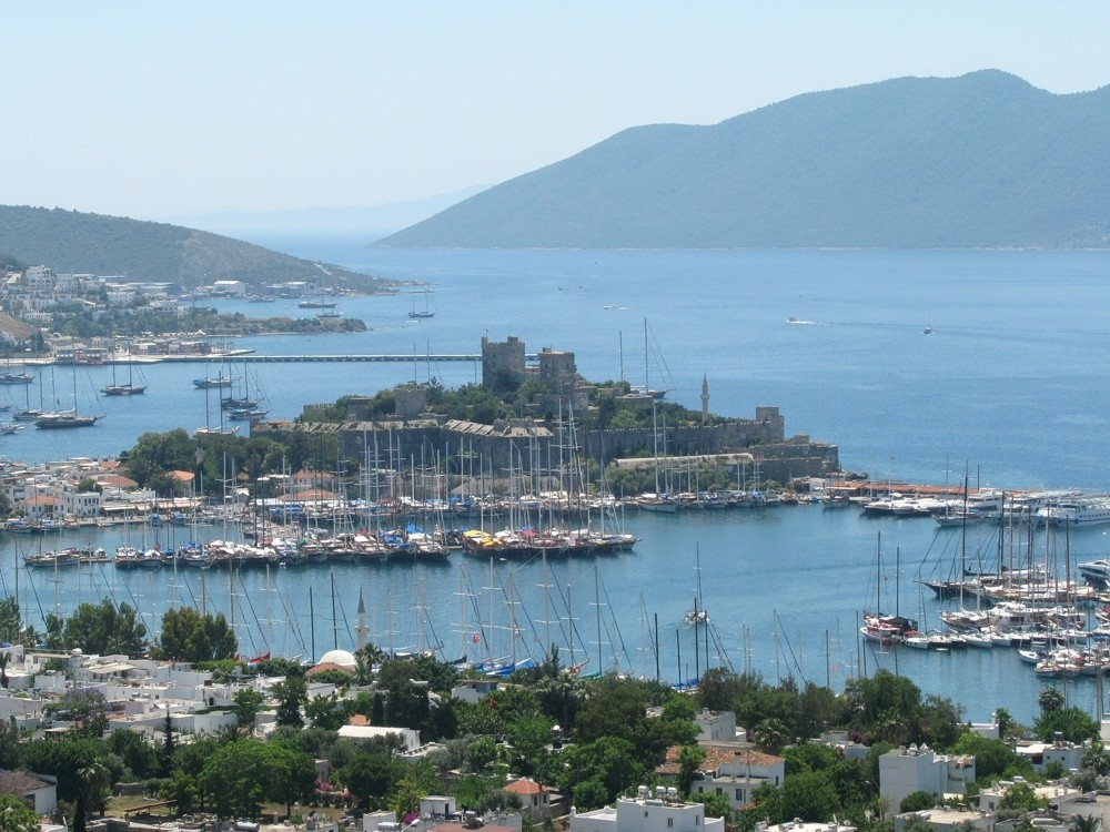 Bodrum_Castle_of_St._Peter_Turkey Estambul Bodrum Rodas Santorini