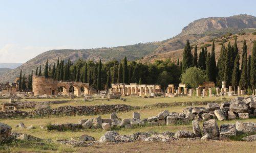 Hierapolis Turkey Genaral View